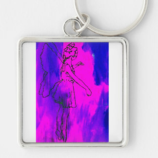 """Fire Fairy""  CricketDiane Art & Design Keychain"