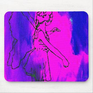 """Fire Fairy""  CricketDiane Art & Design Mouse Pad"