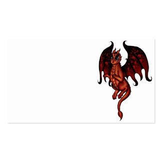fire fairy dragon business cards