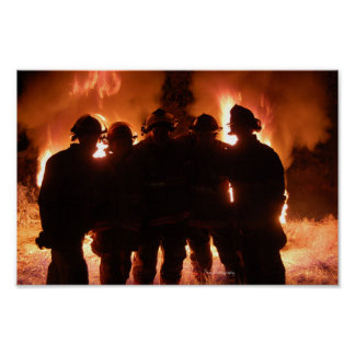 Fire Family Poster