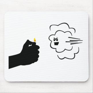 Fire Fart Mousepads