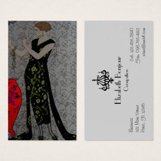 Fire Fashion Plate ~ Business Card