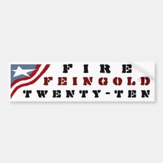Fire Feingold Car Bumper Sticker