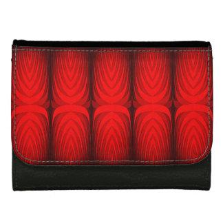 fire fern banner wallet for women