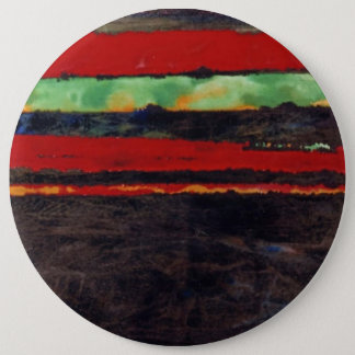 """'Fire Fight"" Abstract Art Button"