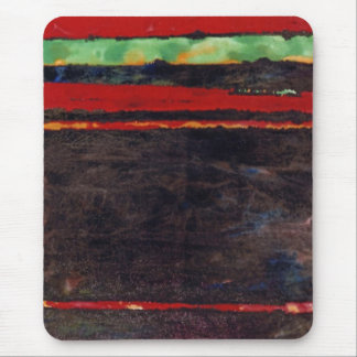 """Fire Fight"" Abstract Design Mousepad"