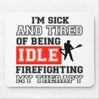 fire fight my therapy mousepad