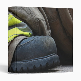 Fire Fighter 3 Ring Binder