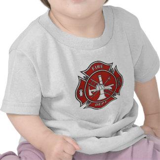 Fire Fighter Badge Tee Shirt