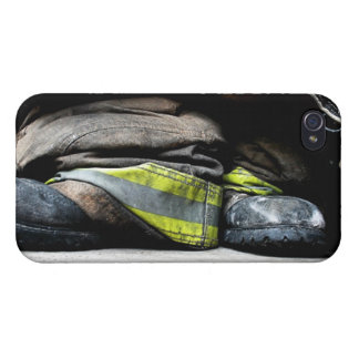 Fire Fighter Boots iPhone 4/4S Cover