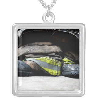 Fire Fighter Boots Necklace