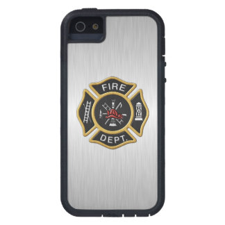 Fire Fighter Deluxe Cover For iPhone 5