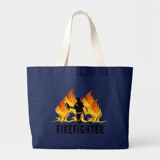 Fire Fighter Flames Bags