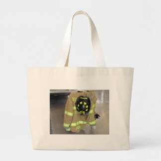 fire fighter helmit and jacket bags