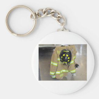 fire fighter helmit and jacket keychains