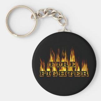 Fire Fighter Keychain
