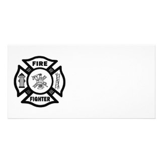 Fire Fighter Maltese Card