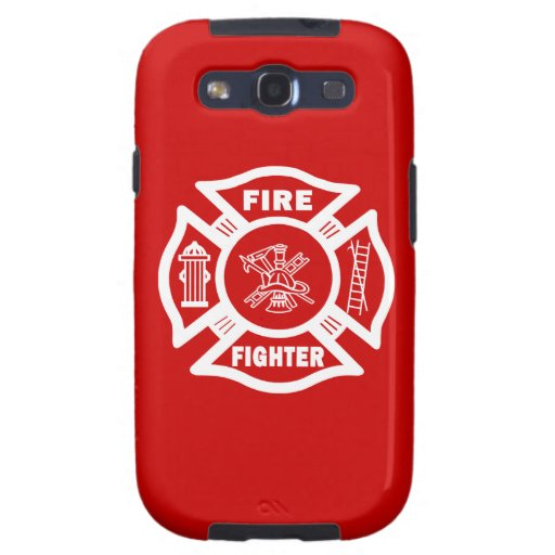 Fire Fighter Maltese Samsung Galaxy SIII Covers