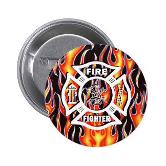 Fire Fighter Maltese Cross Pin