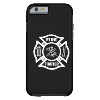 Fire Fighter Maltese Cross Tough iPhone 6 Case