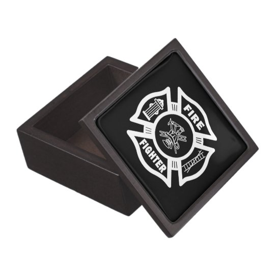 Fire Fighter Maltese Gift Box