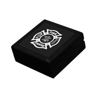 Fire Fighter Maltese Gift Box