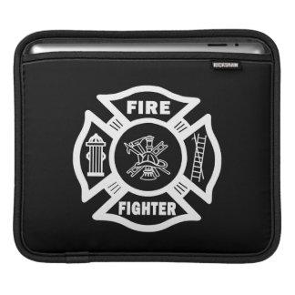 Fire Fighter Maltese iPad Sleeves