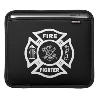 Fire Fighter Maltese iPad Sleeve