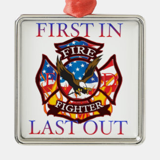 Fire Fighter Ornaments