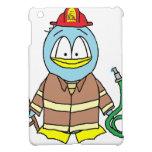 Fire Fighter Penguin iPad Mini Covers