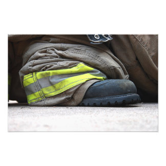 Fire Fighter Photo Print