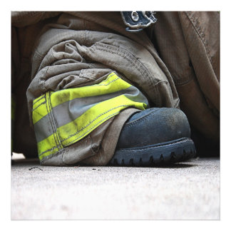 Fire Fighter Photographic Print