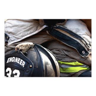 Fire Fighter Photo Art