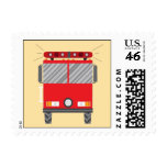 Fire Fighter Postage Stamps