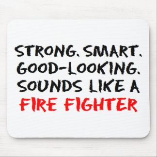 Fire fighter sound mouse pad