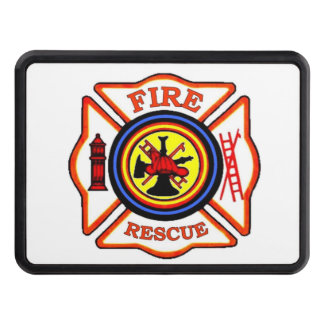 FIRE FIGHTER TOW HITCH COVER