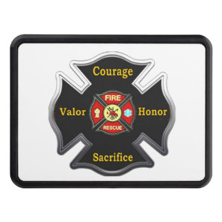 FIRE FIGHTER TRAILER HITCH COVER
