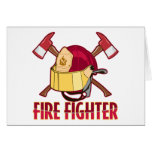 Fire Fighter Tribute Greeting Card