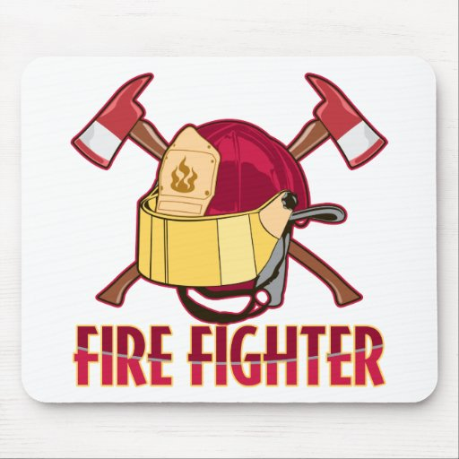 Fire Fighter Tribute Mouse Mats