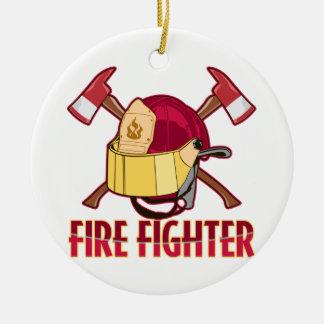 Fire Fighter Tribute Ornament