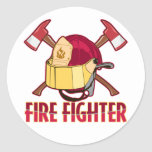 Fire Fighter Tribute Stickers