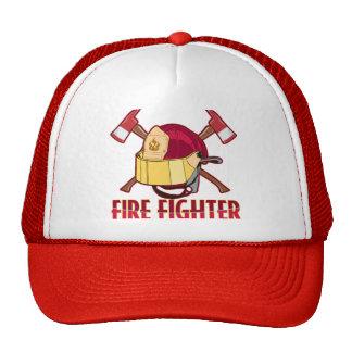 Fire Fighter Tribute Trucker Hat