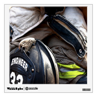 Fire Fighter Wall Decal