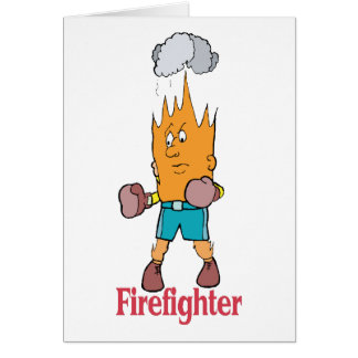 Fire Fighter - Word Play Card