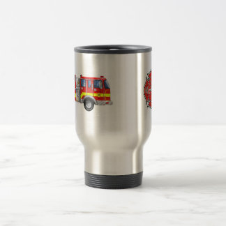 Fire Fighters 15 Oz Stainless Steel Travel Mug