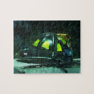 Fire Fighter's Helmet Jigsaw Puzzle