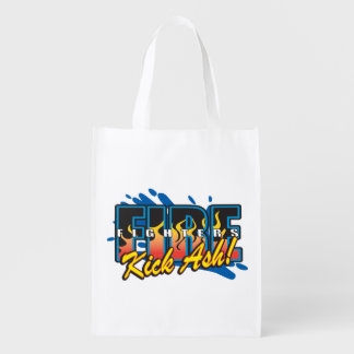 Fire Fighters Kick Ash! Market Totes