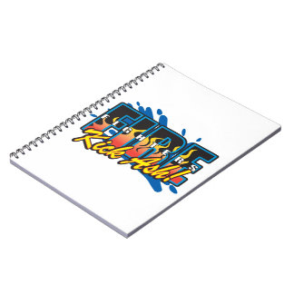 Fire Fighters Kick Ash! Notebook