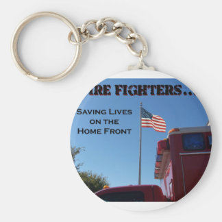 Fire Fighters ... Saving Lives Keychain