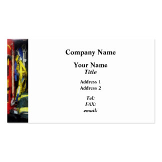 Fire Fighting Equipment Double-Sided Standard Business Cards (Pack Of 100)